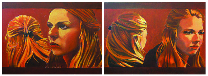 Mathilde diptych 3 small